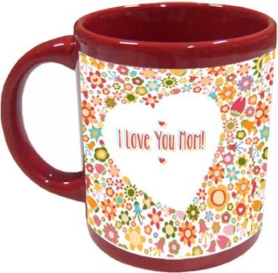 Giftsmate I Love You Mom Ceramic Mug