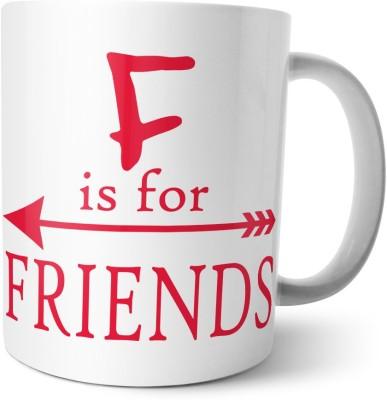 Chiraiyaa Happy Friendship Day - F is for friend - B is for Best Ceramic Mug