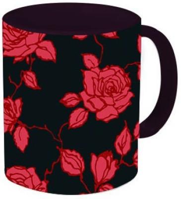 Rawkart Rose print Ceramic Mug