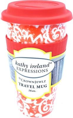 Kathy Ireland Paisley Park Porcelain Mug