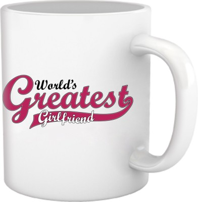 Tiedribbons World Gratest Girlfriend Gifts Ceramic Mug