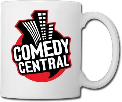 Muggies Magic Comedy Central Ceramic Mug(325 ml)