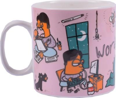 Enfin Homes Workaholic Bone China Mug