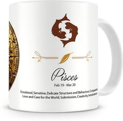 Print Haat Pisces Zodiac Ceramic Mug