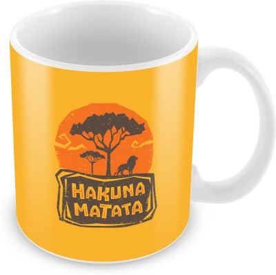 The Souled Store. HAKUNA MATATA  Ceramic Mug