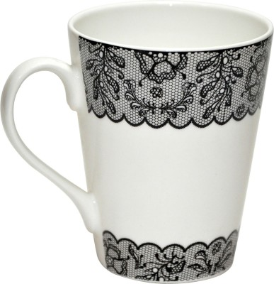 Dandy Lines 10010-Conical Bone China Mug