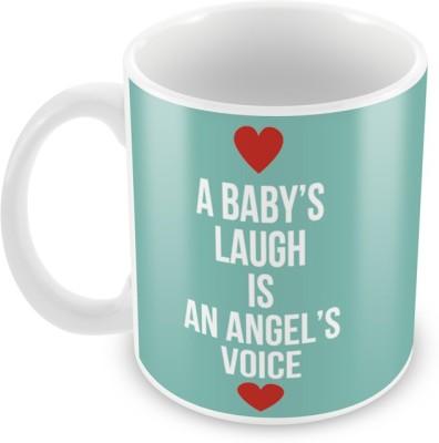 AKUP A-Babys-Laugh Is A Angel Voice Ceramic Mug