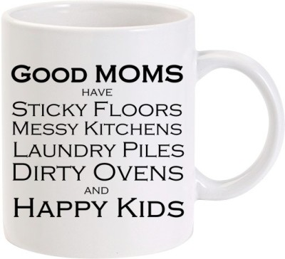 Lolprint Good Moms Happy Kids Mothers Day Ceramic Mug