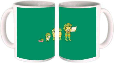 Shopmillions Hightech Turtle Ceramic Mug