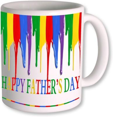 PhotogiftsIndia Happy Fathers Day 149 Ceramic Mug