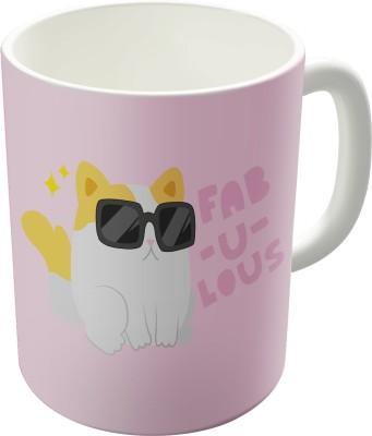 Dreambolic Fab-E-Lus Printed Ceramic Coffee Ceramic Mug