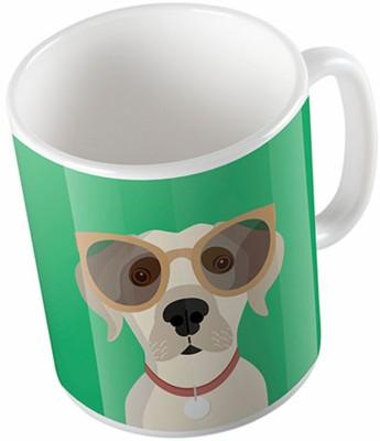 Uptown 18 Labrador Retriever Ceramic Mug