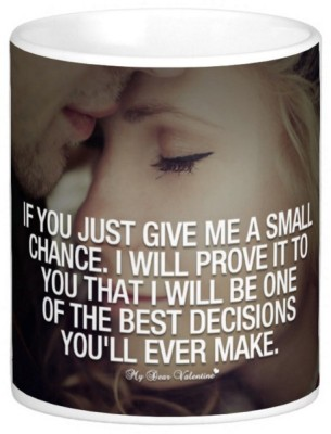 Exoctic Silver Love Romantic Quotes 016 Ceramic Mug
