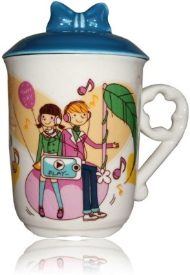DRL DRL Love Music  Porcelain Mug
