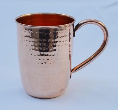 Veda Home & Lifestyle Hammered Copper Mug