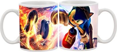 Goonlineshop Sonic Riders Ceramic Mug
