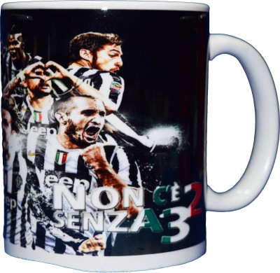 642 Stitches Team Juventus Porcelain Mug
