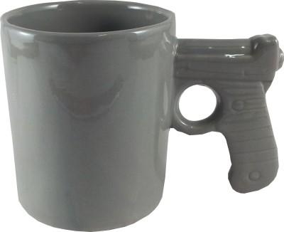 Gifts And Style Gun Handle Ceramic Mug