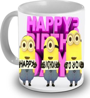 PSK Cute Minions CM78 Ceramic Mug