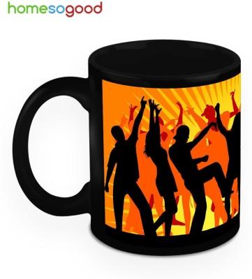HomeSoGood Lets Start Some Dance Moves Ceramic Mug