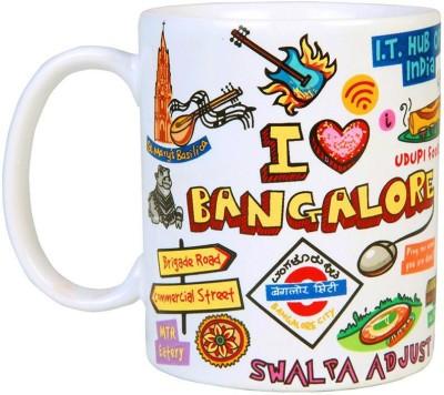 Eco Corner Bangalore Ceramic  Porcelain Mug