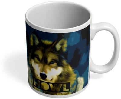 PosterGuy Wolf Wolf,Howl,Jungle,Animal,Wild,Quirky,Beast Ceramic Mug