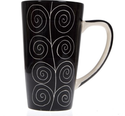 Urban Monk Creations Black 0101 Ceramic Mug
