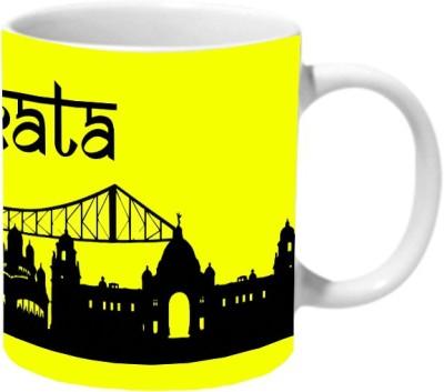 Mooch Wale Kolkata Ceramic Mug