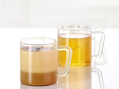 Borosil Classic Delite Set of 2 Borosilicate Glass Mug