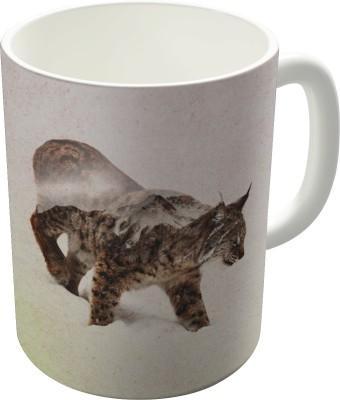 Dreambolic Lynx Ceramic Mug