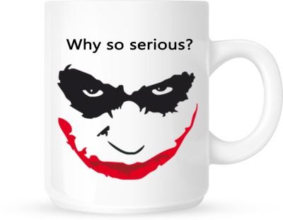 Huppme Joker Why So Serious  Ceramic Mug