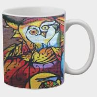 Printland Printland Magnetic White Coffee 350 - ml Ceramic Mug(350 ml) best price on Flipkart @ Rs. 249