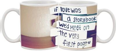Goonlineshop Story Book Ceramic Mug