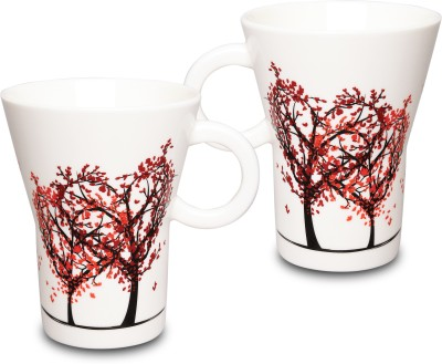 KUDOS EVOLVE HEART COFFEE Ceramic Mug