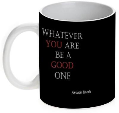 Mugwala Be A Good One Inspirational Ceramic Mug