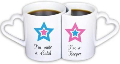 Perfico I Am A Catch. I Am A Keeper Ceramic Mug