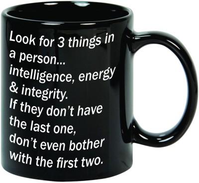 Mugwala Three Things Ceramic Mug