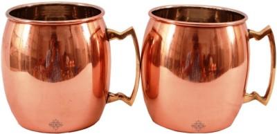 Indian Art Villa IAV-C-2-112A Copper Mug