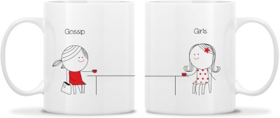 TwoGud Gossip Girls Bone China Mug