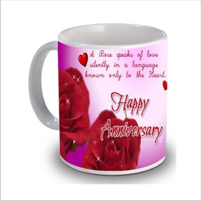 Print Hello happy anniversary 71 Ceramic Mug