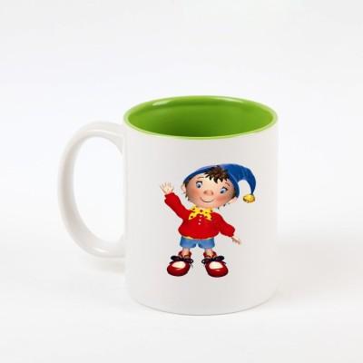 HuppmerGift Noddy Inner Green  Ceramic Mug
