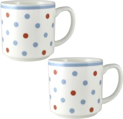 Radius In Dotted Design Ceramic Mug