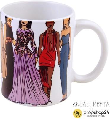 PropShop24 FASHION Ceramic Mug