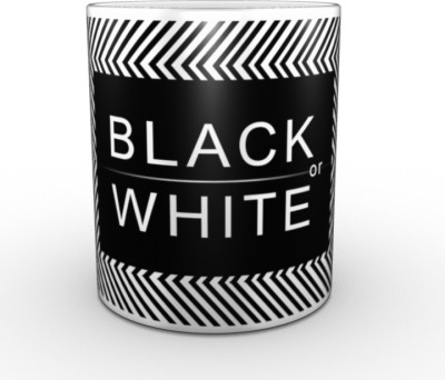 TheDesignJunction Black_and_White Ceramic Mug
