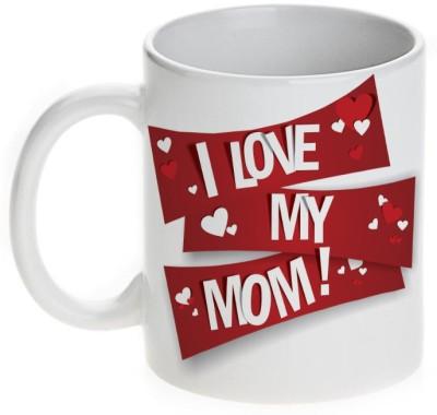 Mugwala I Love You My Mom Ceramic Mug