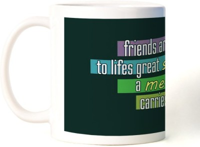 Rockmantra Friends Are Notes Happy Friendship Day Ceramic Mug