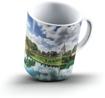 Ucard Church2719 Bone China, Ceramic, Porcelain Mug