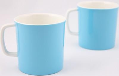 Hi Luxe Dbl Clr Melamine 42248 Dual - Blue? Melamine Mug