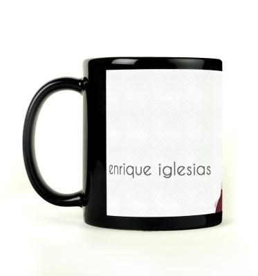 AURRA PRINTED BLACK-879 Ceramic Mug