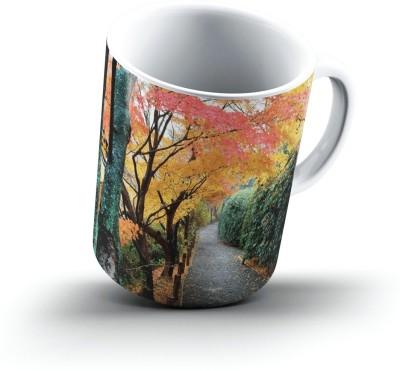 Ucard Landscape2292962 Bone China, Ceramic, Porcelain Mug